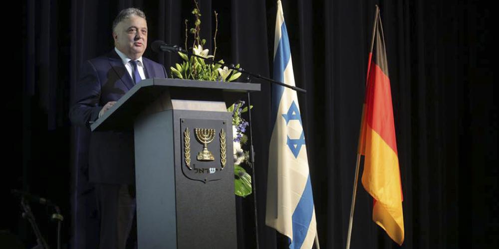 70 Jahre Israel – die Initiative 27. Januar beim Botschaftsempfang