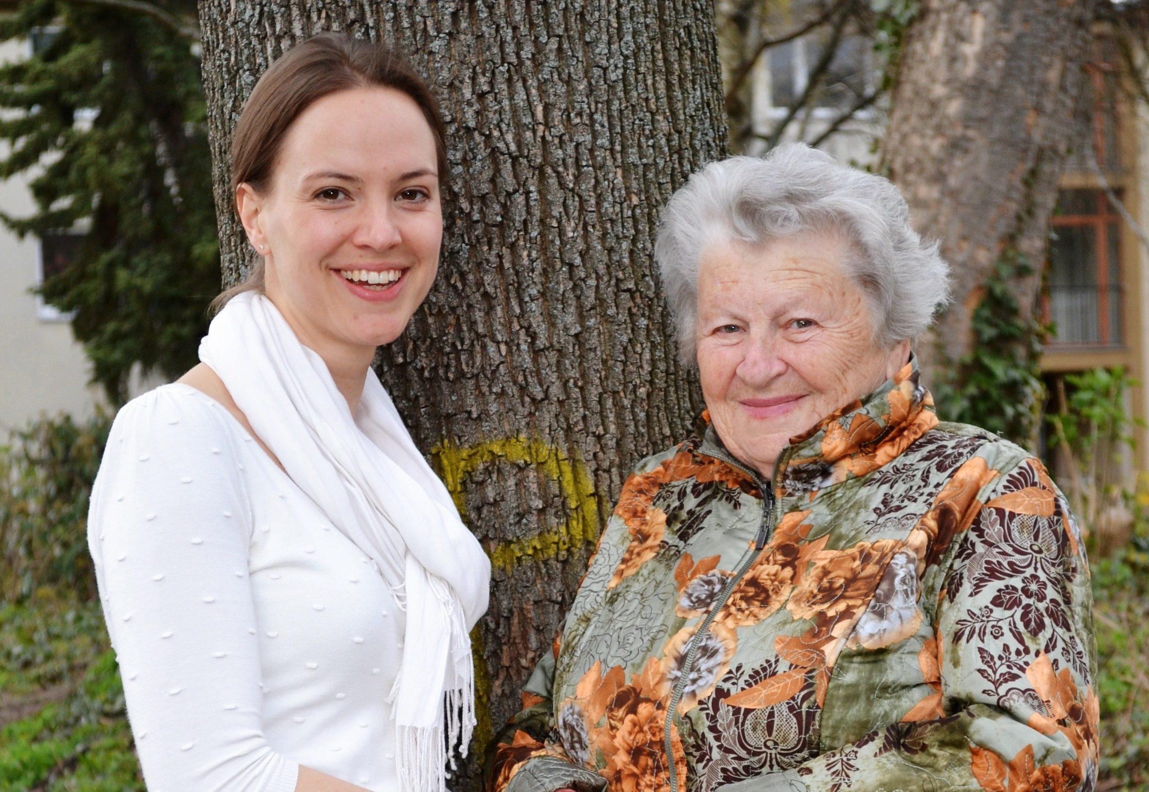Marina Müller (links) und Assia Gorban