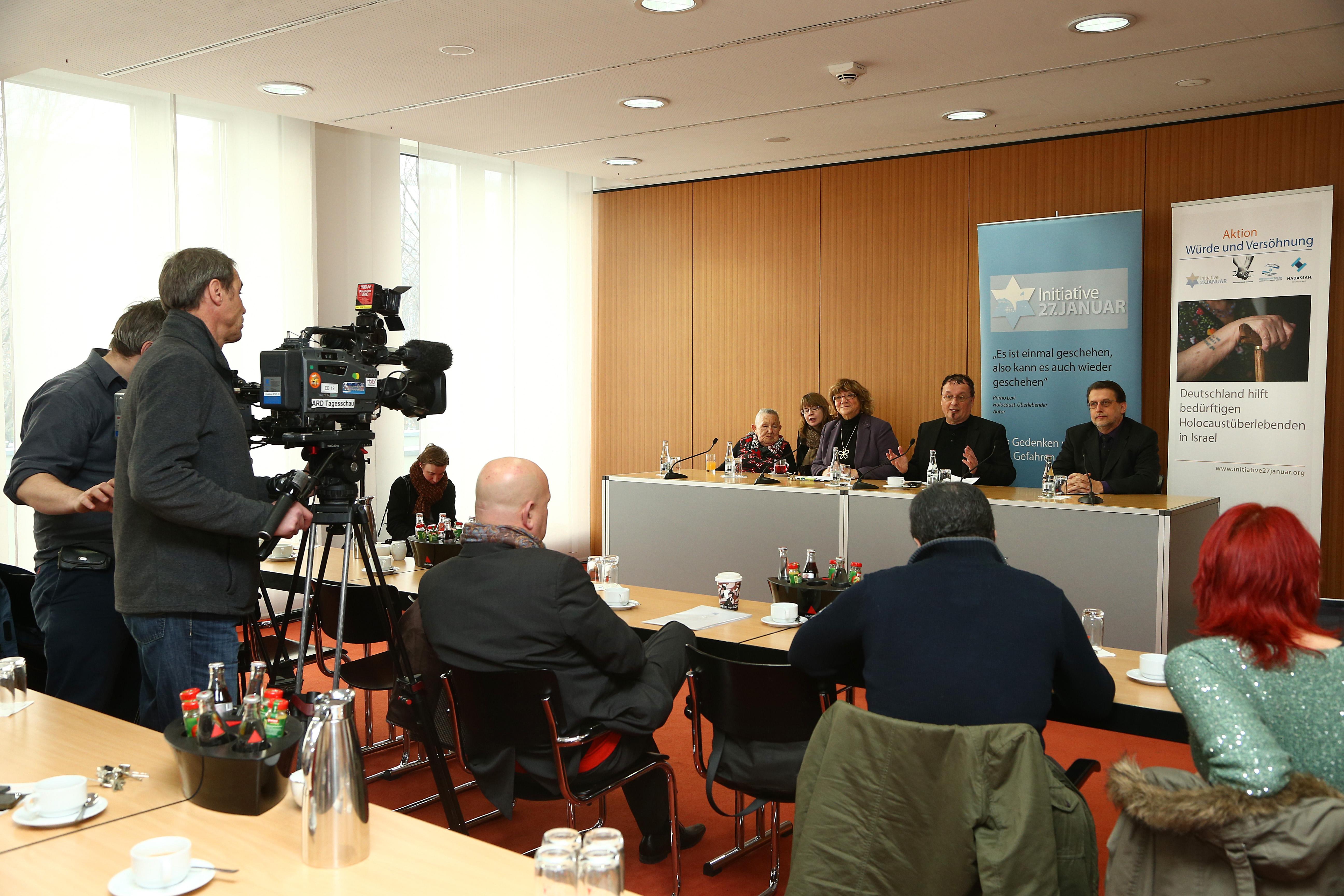 Pressekonferenz am 25.01.2013 im Haus der Bundespressekonferenz in Berlin, Foto: Eventpress Herrmann