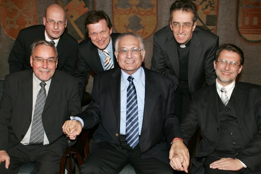 Ehrengäste am 27.01.2009 im Senatssaal des Bayerischen Landtags
