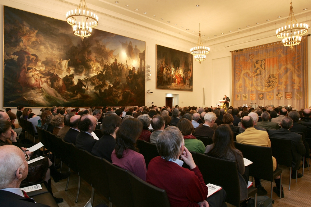 Gedenkveranstaltung am 26.01.2009 im Senatssaal des Bayerischen Landtags