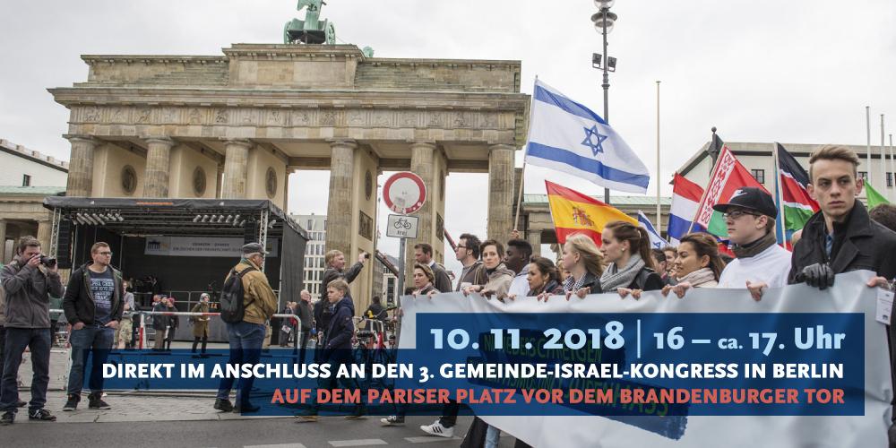 Solidaritätskundgebung für Israel – Gegen Antisemitismus. Für Israel. Für Jerusalem.
