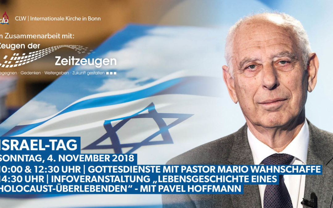 Israel-Tag in Bonn am 4.11.2018 mit Pavel Hoffmann