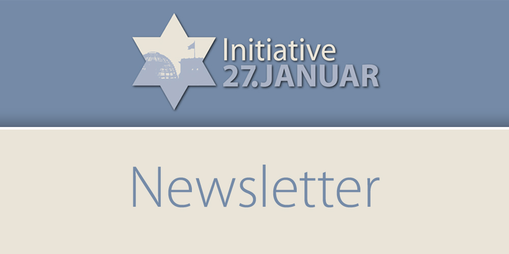 Initiative 27. Januar – Newsletter Juni 2019