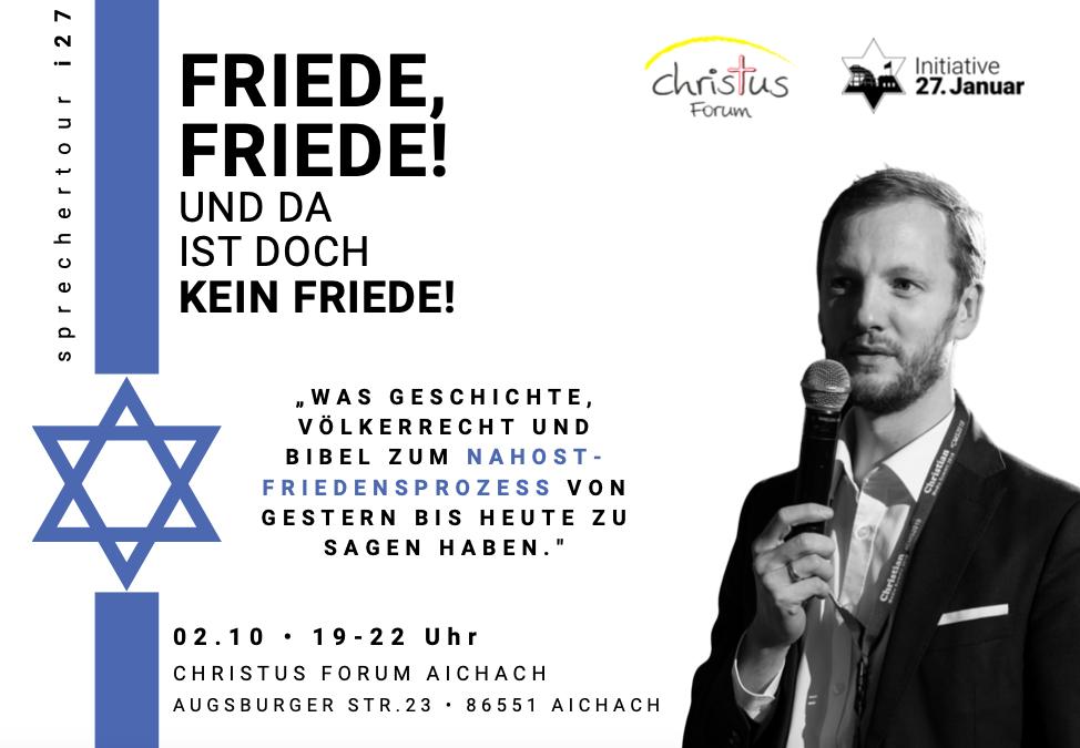 Sprechertour 2020 – Aichach